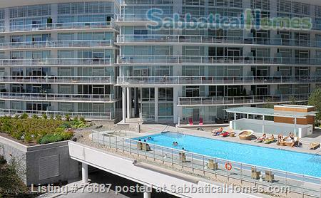 Resort living in the city, Contemporary 1 Bedroom & Den with views of Victoria Inner Harbour                                                          Home Rental in Victoria, British Columbia, Canada 6